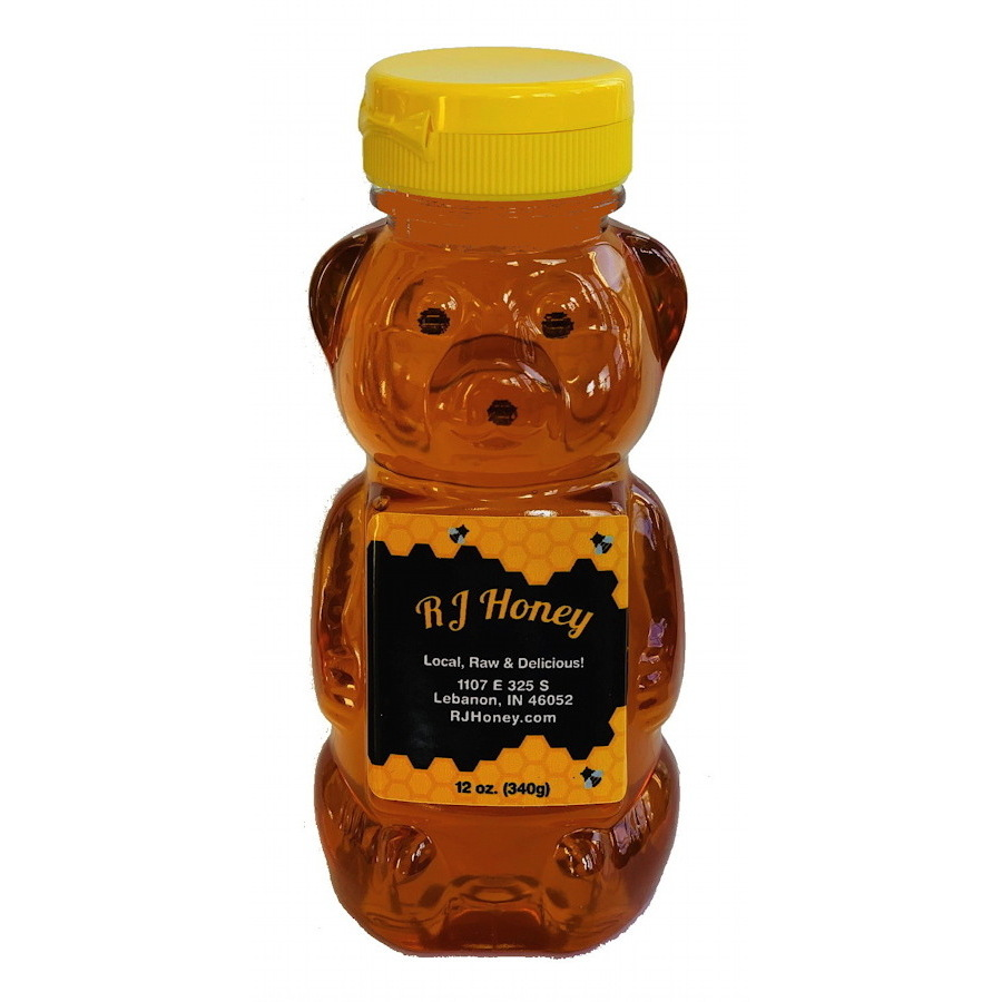 12oz Honey Bear Bottle
