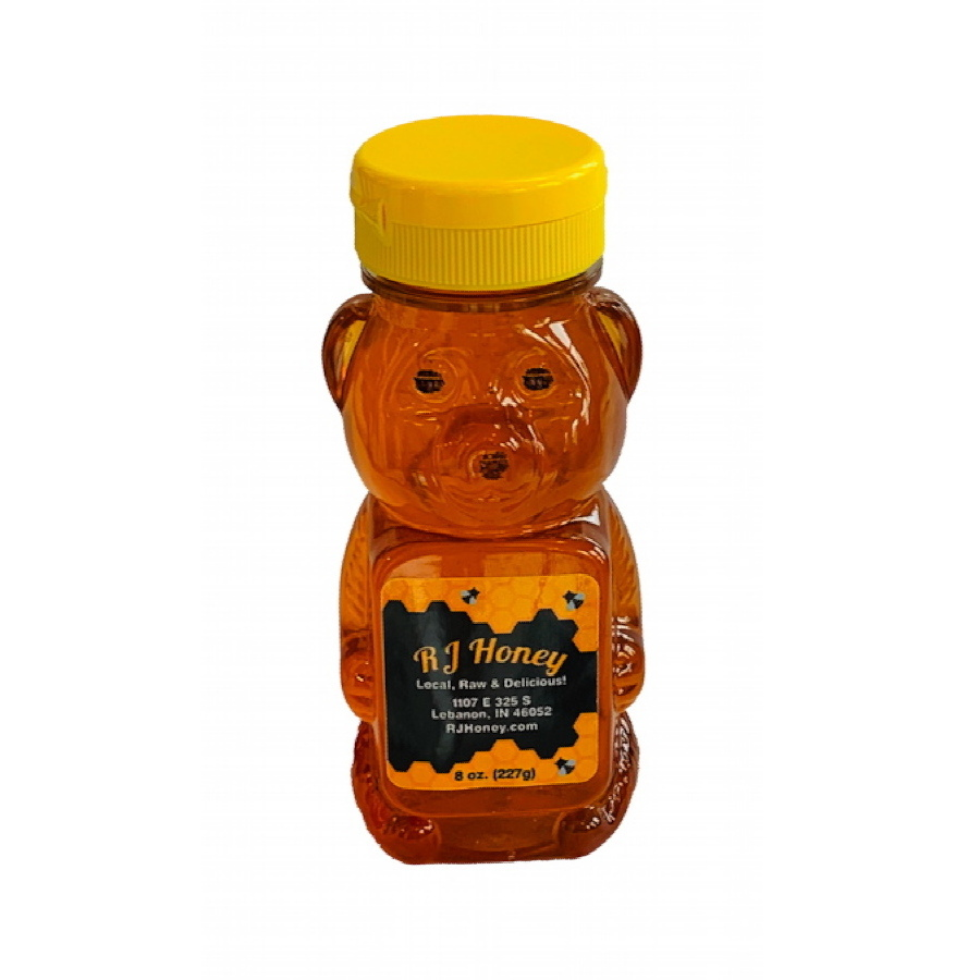 8oz Honey Bear Bottle